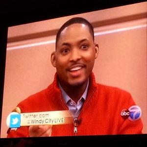 DChamp's appearance on Windy City Live.
